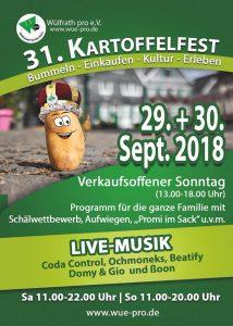 31. Wülfrather Kartoffelfest 2018