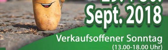 Programm für das 31. Wülfrather Kartoffelfest