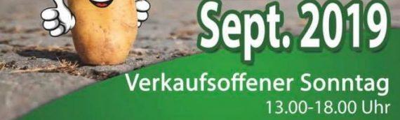 32.Kartoffelfest am 28.09. und 29.09.2019