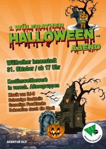 1. Wülfrather Halloween - Abend